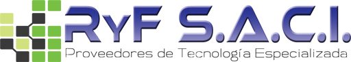 R y F SACI Logo Completo