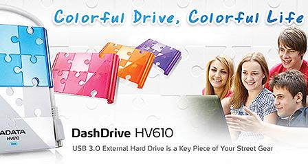 Adata DashDrive HV610 con USB 3.0