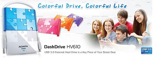 Adata DashDrive™ HV610 con USB 3.0