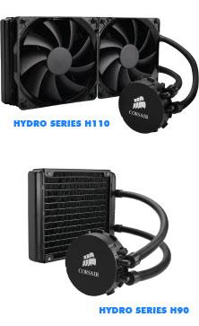 Corsair Hydro Series H110 y H90