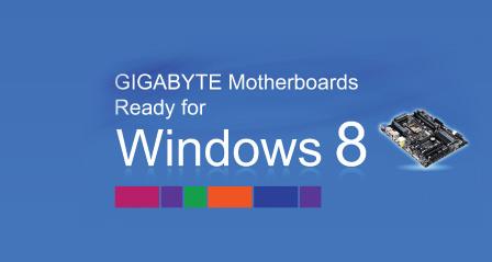 Gigabyte Technology Co. Ltd Motherboards Windows 8 Compatible