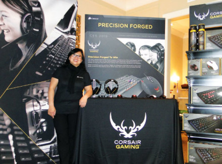 Foto de Jackie Lin LatinAmerican Sales Manager de Corsair
