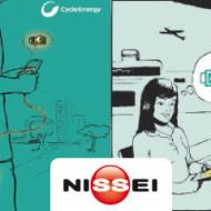 NISSEI presenta Fuente de alimentacion portatil de SONY