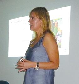 Silvia Beatriz Irizar, Design Business & Category Manager Printing and Personal System de HP para Argentina, Uruguay y Paraguay