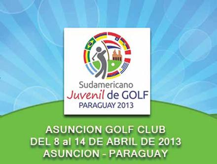 Sudamericano Juvenil de Golf Paraguay 2013