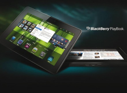 Foto da Tablet Blackberry